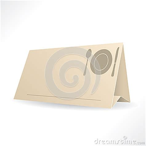 reservation card template dinner reservation template stock photography image