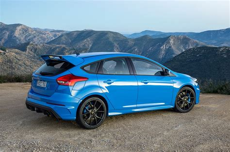 Ford Focus by 2016 Ford Focus Rs Sells For 550 000 At Auction