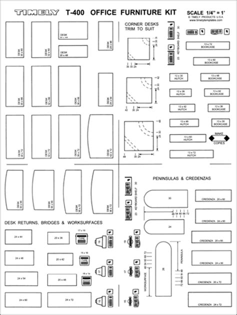 office furniture arranging kit pages 1 2