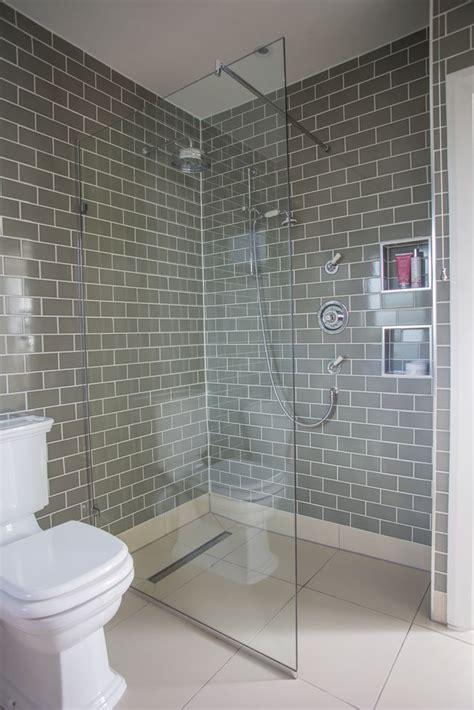 bathroom white brick tiles brick shaped bathroom tiles bathroom makeover grey brick