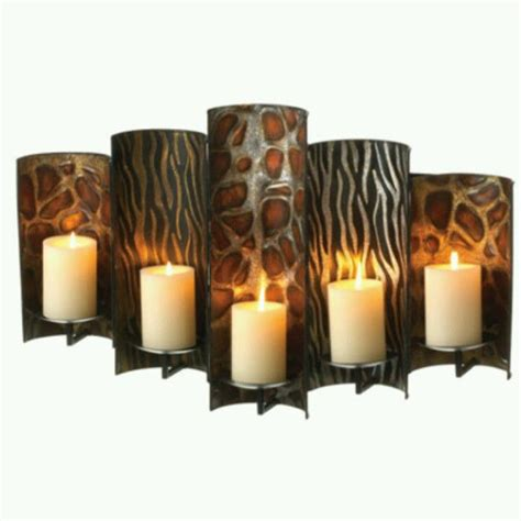safari home decor safari candle holder safari home decor pinterest