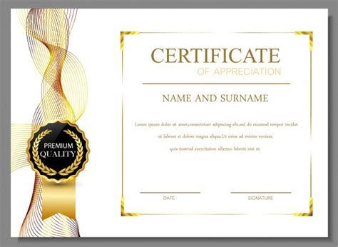 certificate templates planning conduct