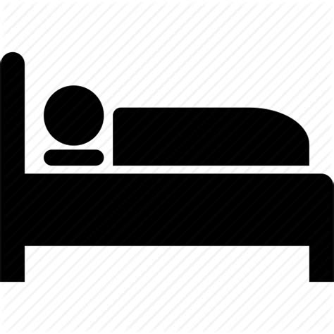 bed icon bed bedroom hospital patient sleep sleeping icon