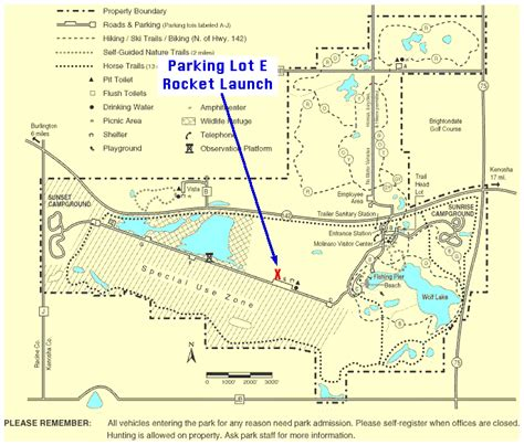 rangers parking lot map newsletters