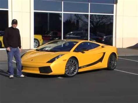 Lamborghini Youtube Video by 2008 Lamborghini Gallardo Superleggera Test Drive Video