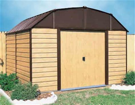 Metal Storage Sheds Kits by Woodhaven 10 W X 14 D Arrow Backyard Metal Storage Shed Kit