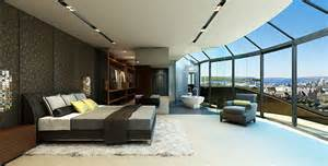 Beautifully Decorated Homes penthouse style bedrooms how to decorate with a sleek theme