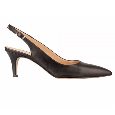 daniel collared women s sling back shoe