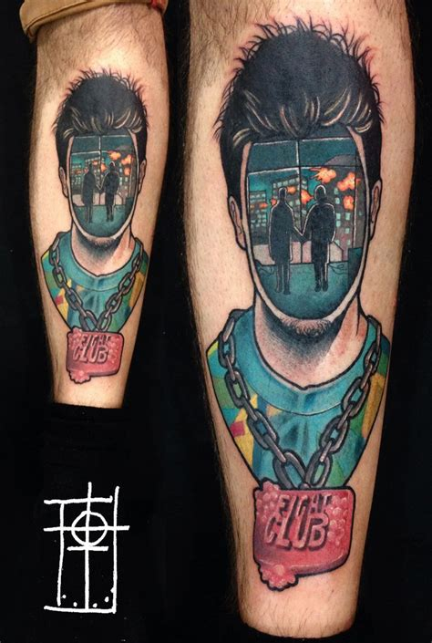 fight club tattoos 25 best ideas about fight club on club