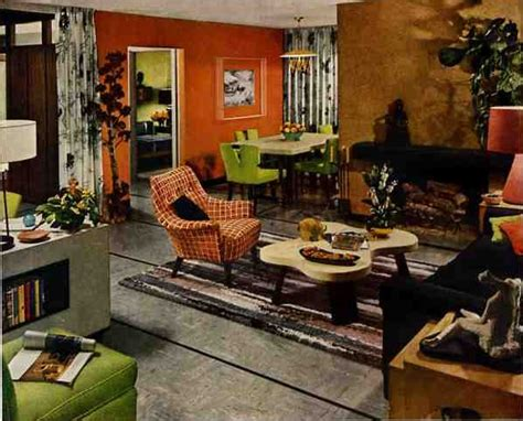 50s Living Room by 50s Dining Room Archives Retro Renovation
