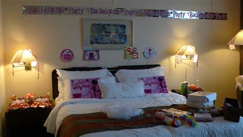 bachelorette hotel room customize birthday triplets plus one