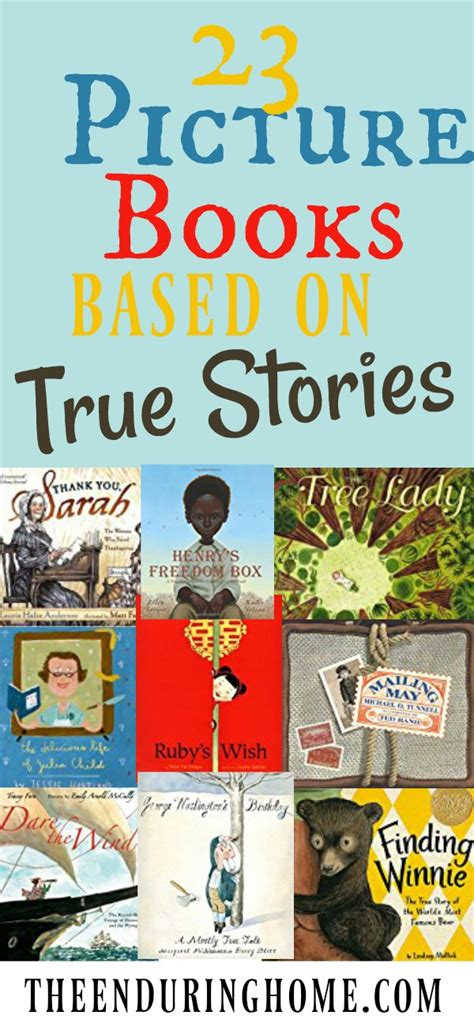 my based on a true story books 23 fantastic picture books based on true stories to