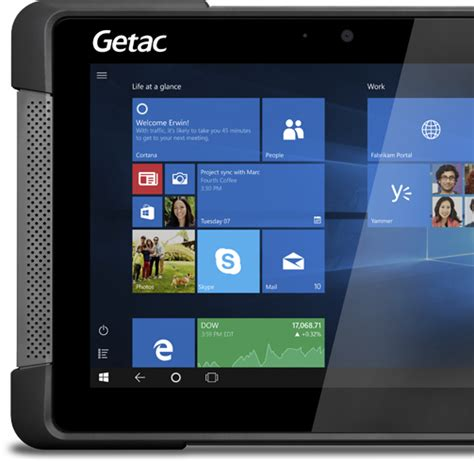 rugged warranty getac t800 fully rugged tablet