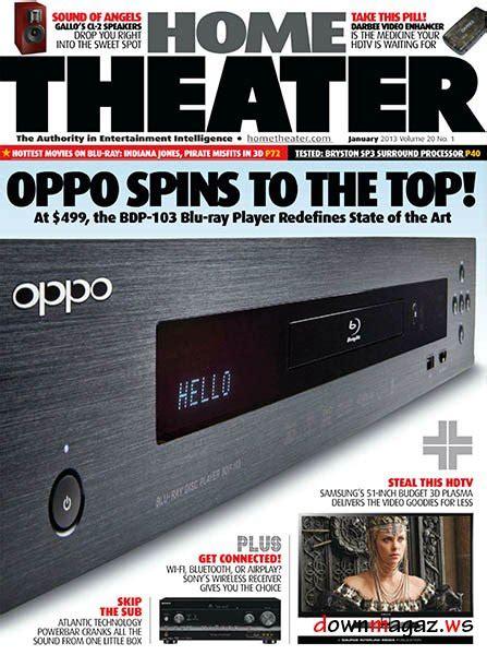 Home Theater Januari home theater january 2013 187 pdf magazines magazines commumity