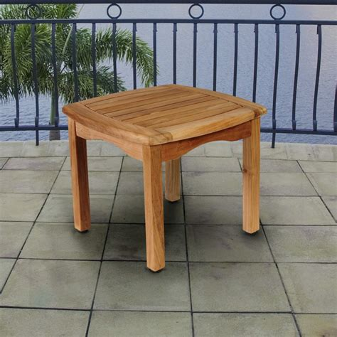 Patio Wood Table Teak Outdoor And Patio Furniture Ideas Founterior