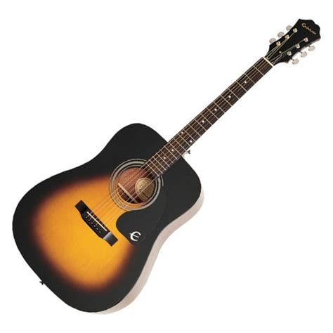 Gitar Epiphone Sg Sunbrush epiphone dr 100 acoustic guitar vintage sunburst at