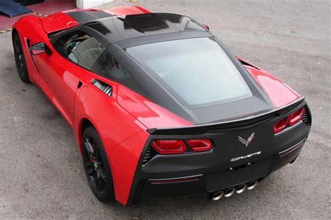 corvette stingray matte black or not matte black tailed c7 corvette stingray