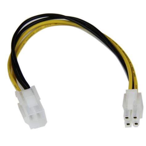 Websong Power Cpu Cable 5 0 M by 8in Atx12v 4 Pin P4 Cpu Power Extension P4 Power Cables