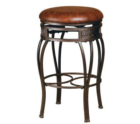 Hillsdale Montello Backless Bar Stools by Hillsdale Furniture Montello Backless Swivel Bar Stool