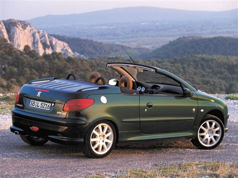 used peugeot 206 cc image gallery peugeot 206 cabriolet