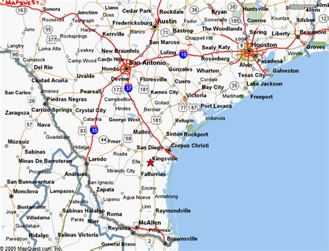 map of south texas cities south texas regional map