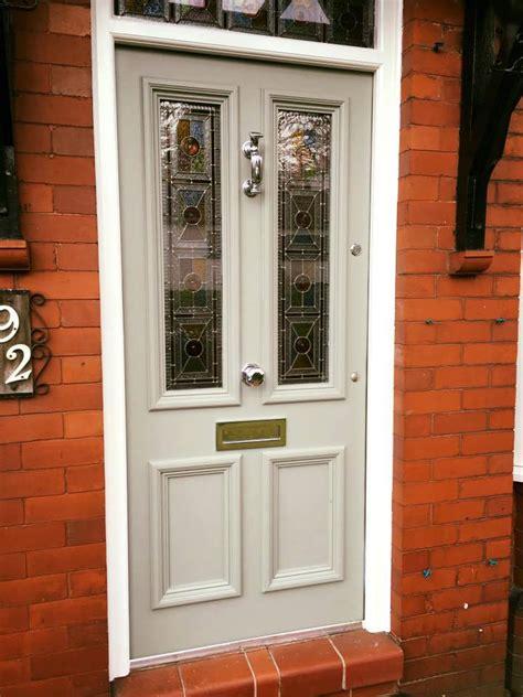 bespoke traditional hardwood  panel door period home