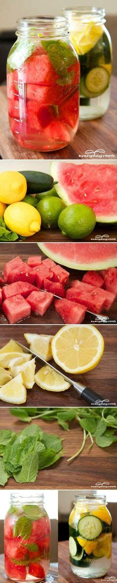 Jazz Detox Drink Ingredients by Strawberry Lime And Mint Infused Water Back To