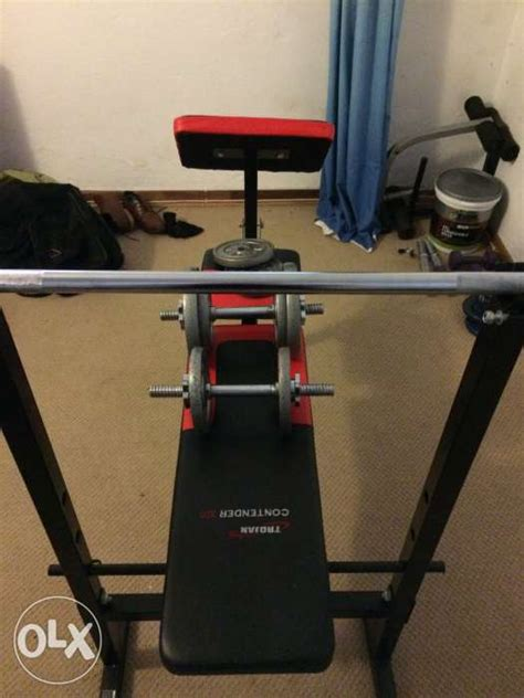 weight bench with weights and bar weight bench bar and dumbbell bars with weights randburg