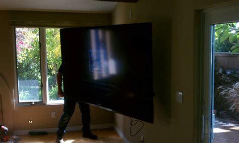80 Inch Tv by Calray Electric Inc 80 Inch Tv Install Today