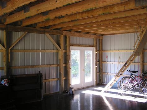 pole barn homes interior garage additions gerber homes remodeling rochester ny area