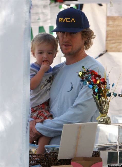 actor similar to owen wilson do you recognize this little guy stars and their kids
