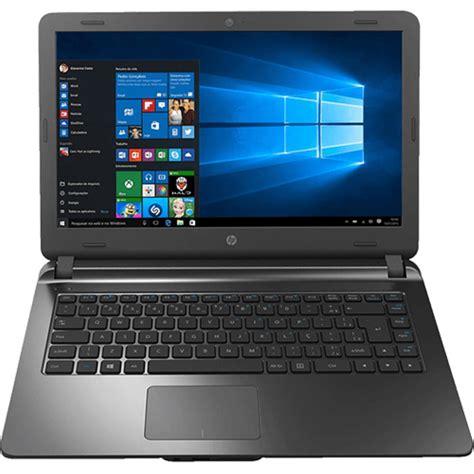 Notebook Hp I3 Murah Hp14 Ac158tu notebook hp 14 ap020 intel i3 4gb 500gb tela led 14 w10 chumbo notebook no casasbahia br