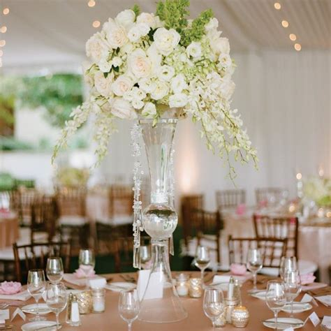 White Wedding Vases by 16 And Dramatic Wedding Centerpieces Preowned