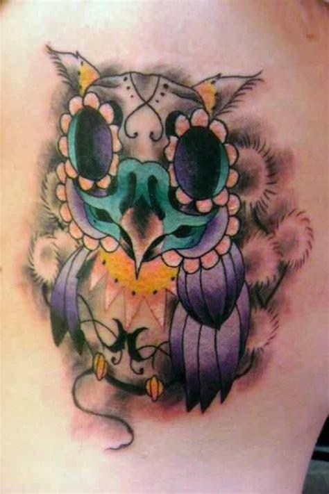 owl tattoo the walking dead day of dead owl tattoo tattoos i did pinterest day