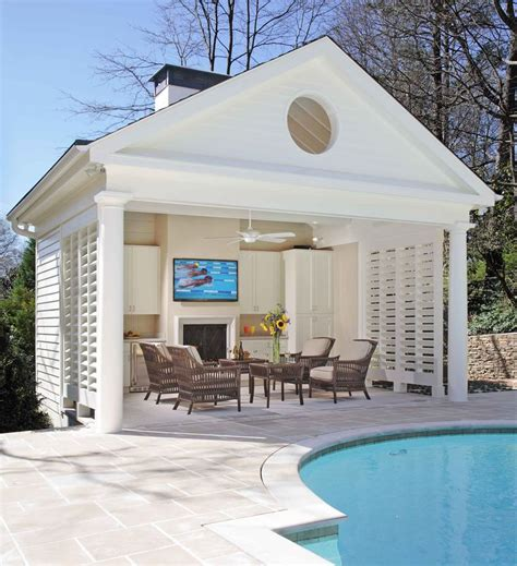 backyard pool houses best 25 small pool houses ideas on pinterest pool house