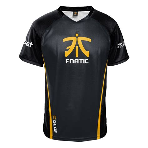 Jersey Clg 2017 fnatic player jersey 2017 esports chionship series