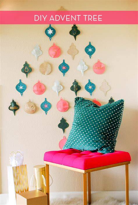 How To Make A Paper Advent Calendar - how to make a paper ornament tree advent calendar