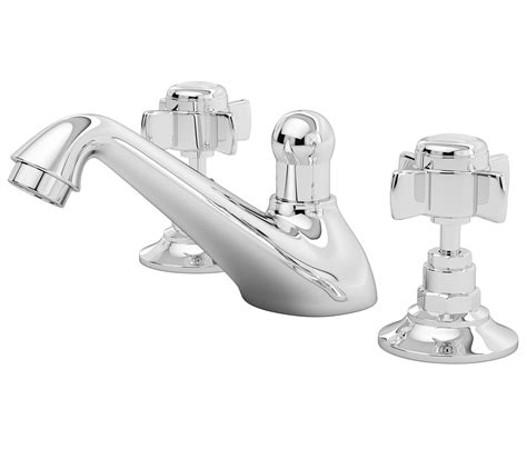 premier traditional  hole deck mounted basin mixer tap
