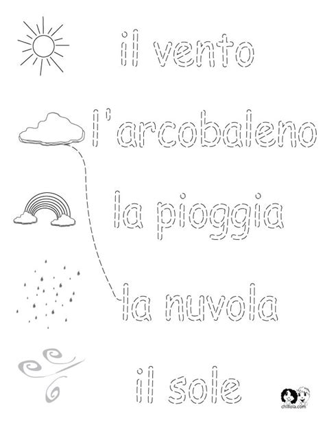 Italian Worksheets by 86 Best Images About Italian Worksheets For Children