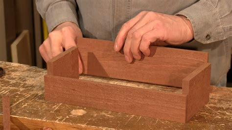 dovetail caddy part woodworking project