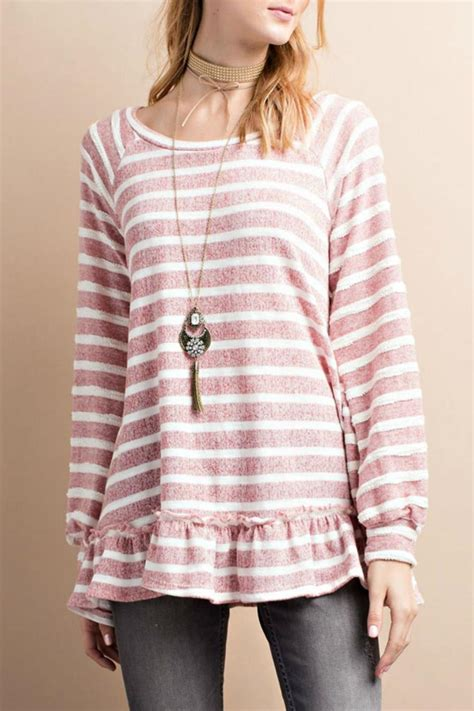 tunic terry easel terry tunic from kansas by seirer s clothing