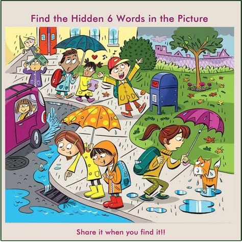 How To Find You In Whatsapp Riddle Find 6 Words In The Picture 2 Bhavinionline