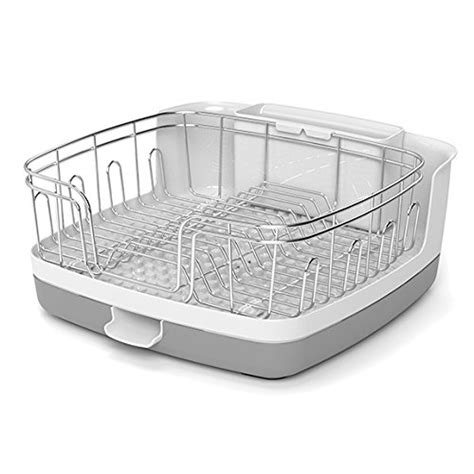 kitchen sink dish rack reo versa new compact stainless steel kitchen organizer