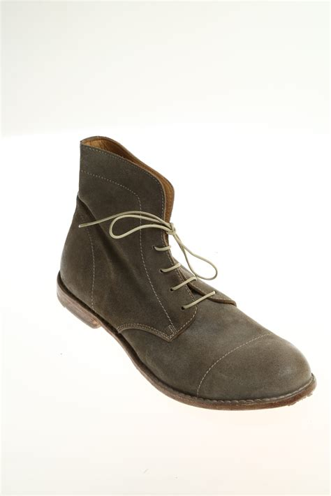 suede ankle boot moma