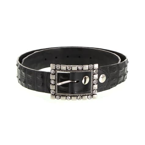 crocodile leather belt the australian made caign