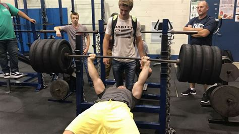 senior bench press records senior shatters bench record the sfhs crier