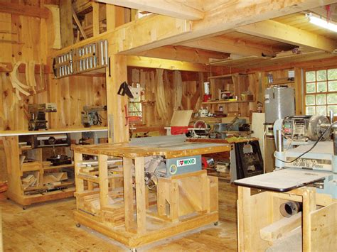 post  beam shop popular woodworking magazine