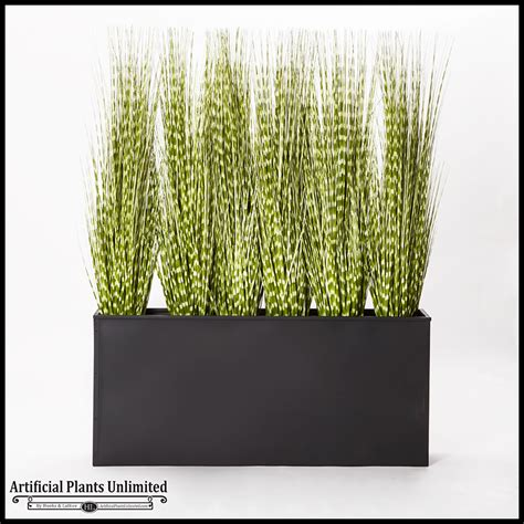 Indoor Grass Planters by Artificial Grass In Large Indoor Planters Planters Unlimited