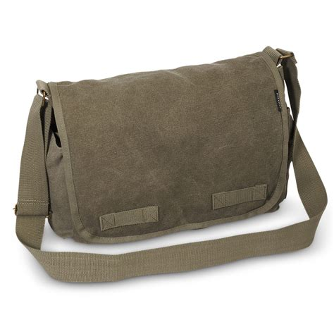 Large Messenger Bag canvas messenger large everest bag