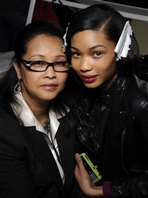 chanel iman mother and father chanel iman s mother china robinson opened a boutique